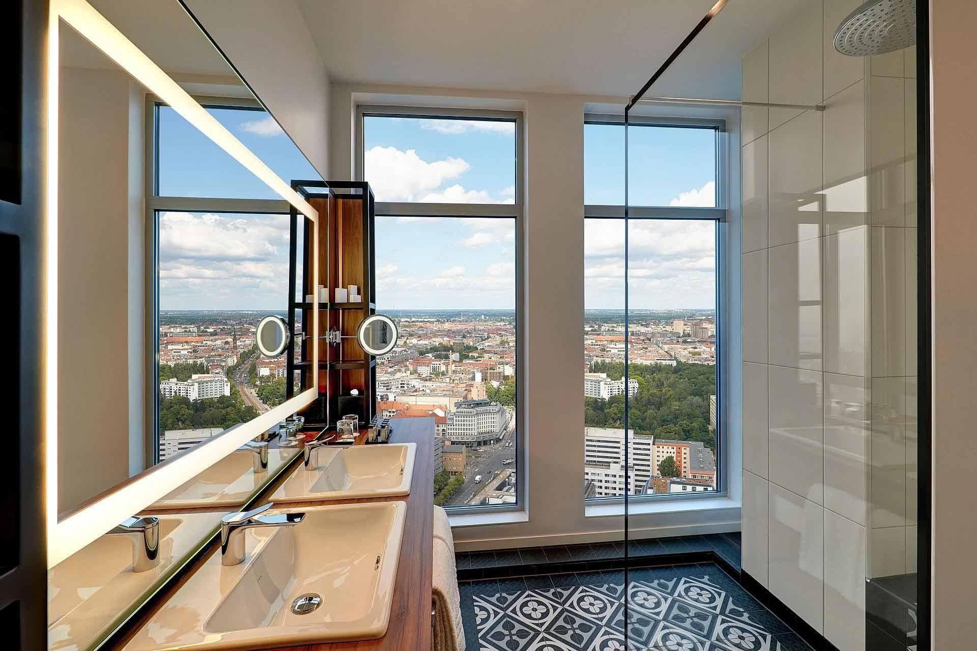 Badezimmer Sky Suite Corner